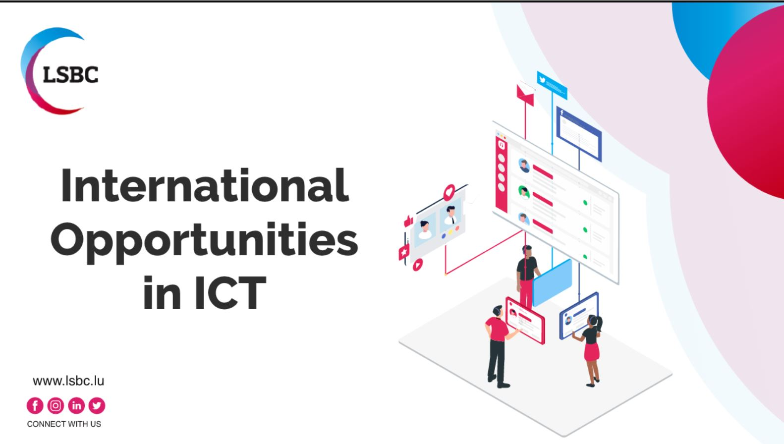 International opportunities in ICT