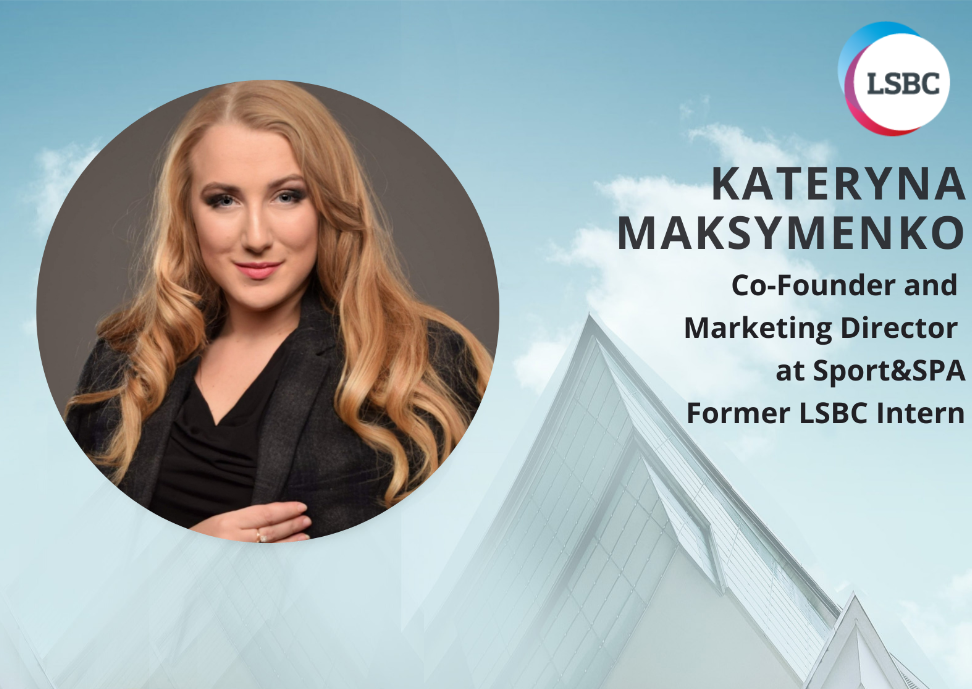 Interview with the former Intern Kateryna Maksymenko