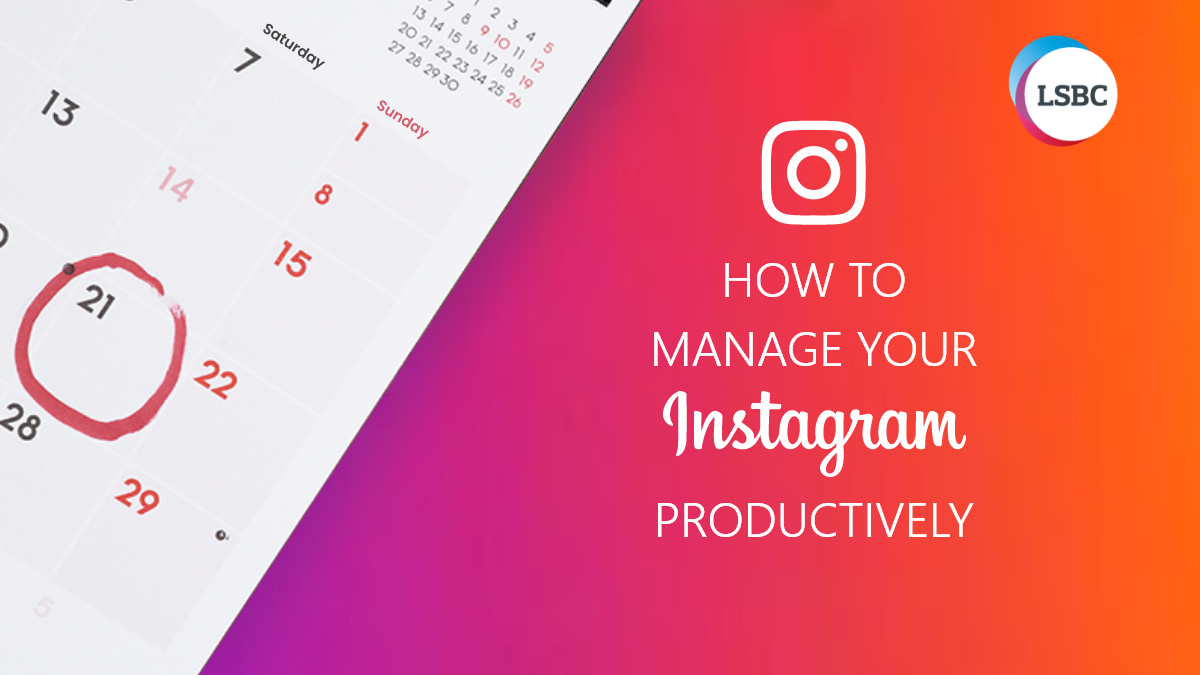 Manage Instagram