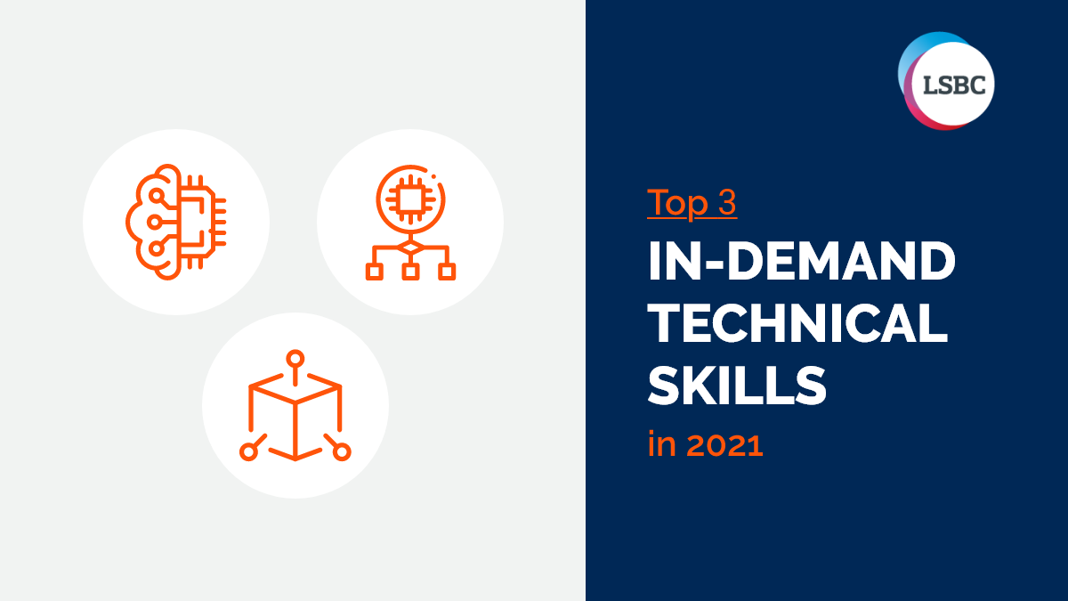 Top 3 In-Demand Technical Skills in 2021