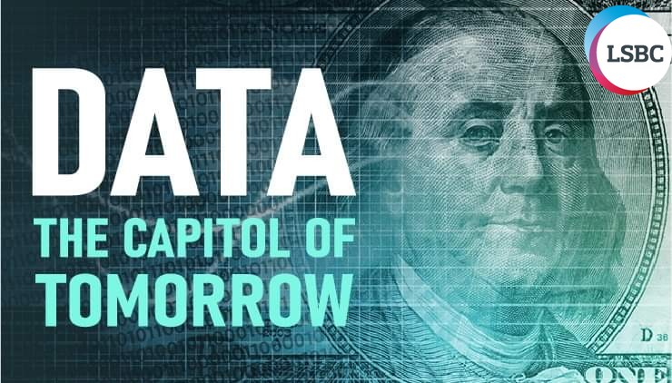 Data on the future will worth more than money so It will be the real capital of tomorrow